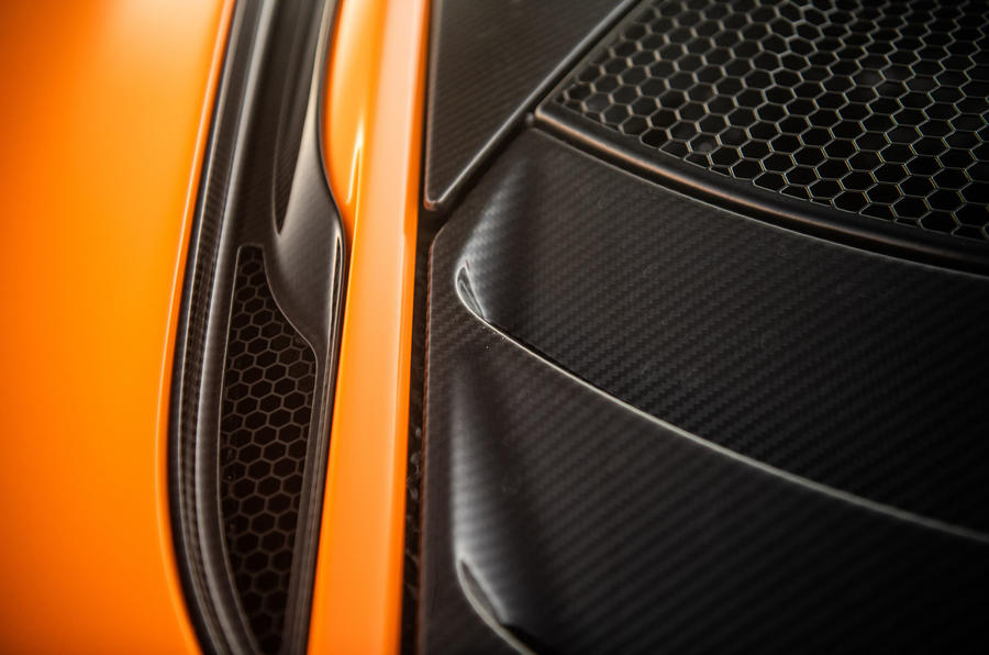 McLaren 720S Track Pack 2018 UK first drive review - carbonfibre