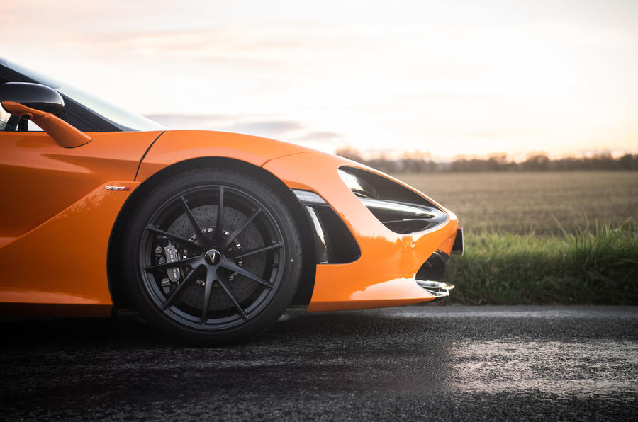 McLaren 720S Track Pack 2018 UK first drive review - alloy wheels