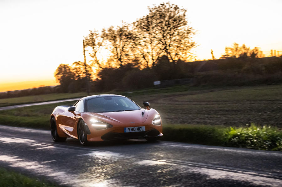 McLaren 720S Track Pack 2018 UK first drive review - on the road front