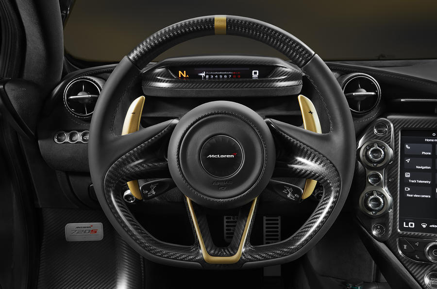 McLaren unfurls bespoke black-and-gold inscribed 720S for Dubai