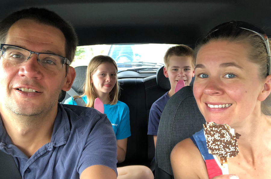 a month with a Mini Electric - family