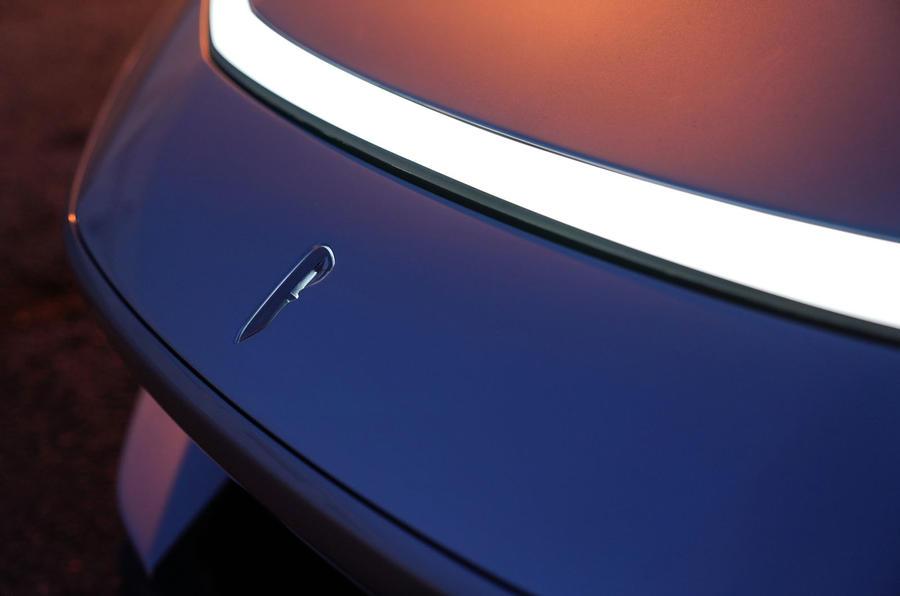 Pininfarina Battista 2019 first drive review - front light bar