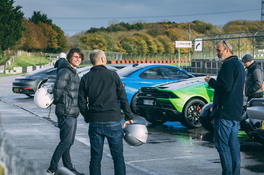 Britain's best drivers car 2020 - track reportage