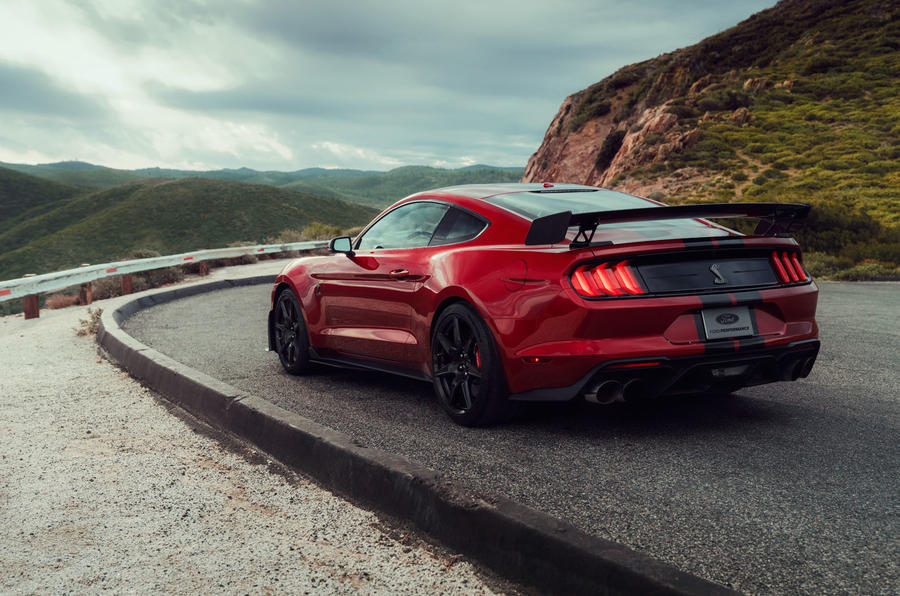 Ford Shelby Mustang GT500 official reveal - static rear