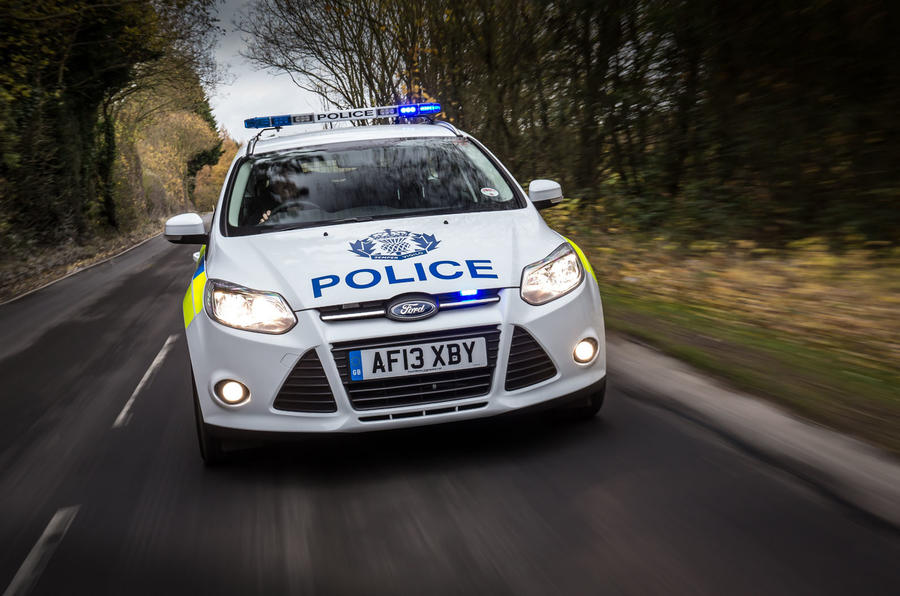 Police Ford Focus estate