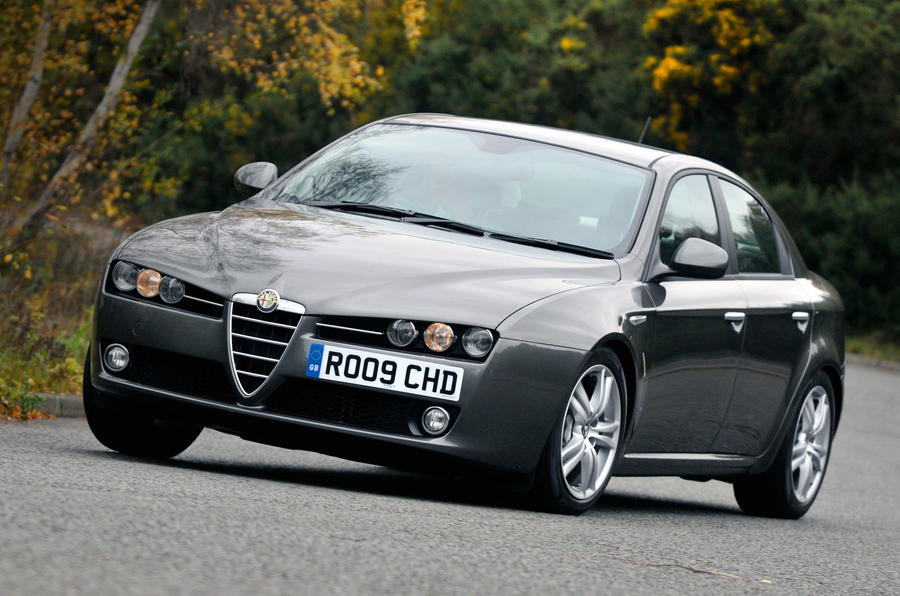 Used vs PCP: executive saloons - Alfa Romeo 159