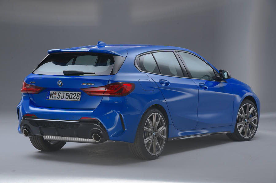 BMW 1 Series 2019 official reveal - studio rear