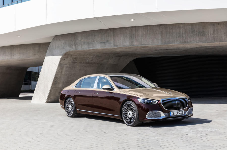 2021 Mercedes-Maybach S-Class official images - static front