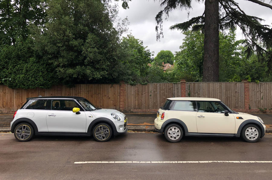 a month with a Mini Electric - with petrol Mini