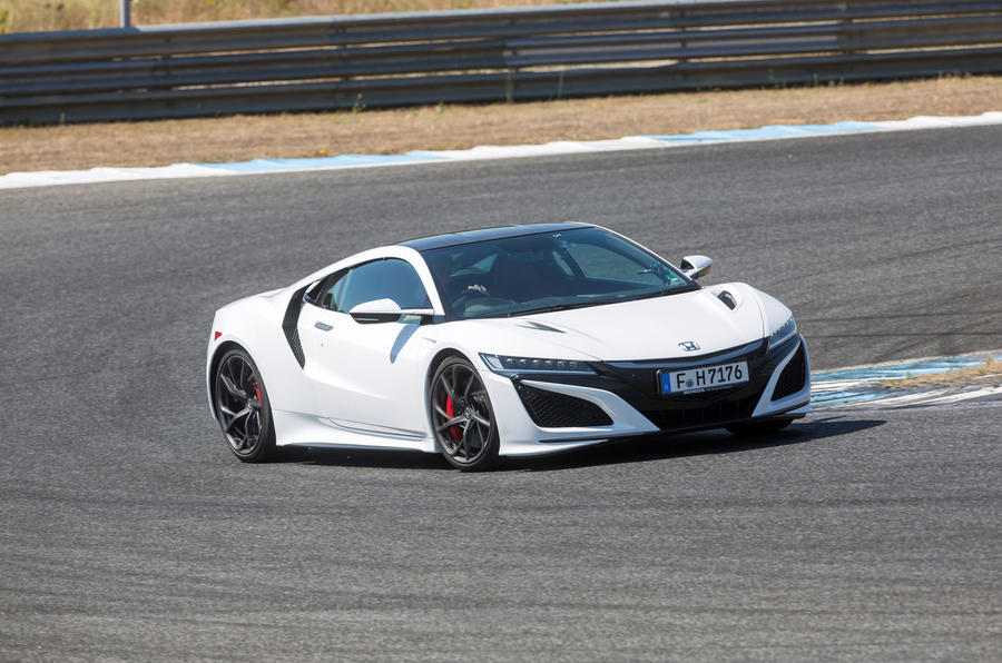 Honda entered a lightweight version of the NSX in the recent Pikes ...