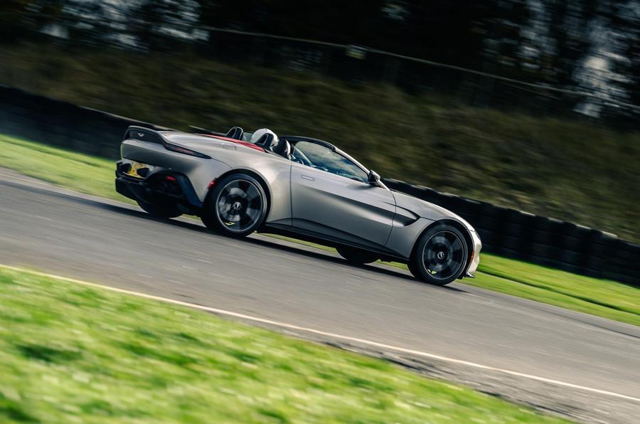 Britain's best drivers car 2020 - Aston rear