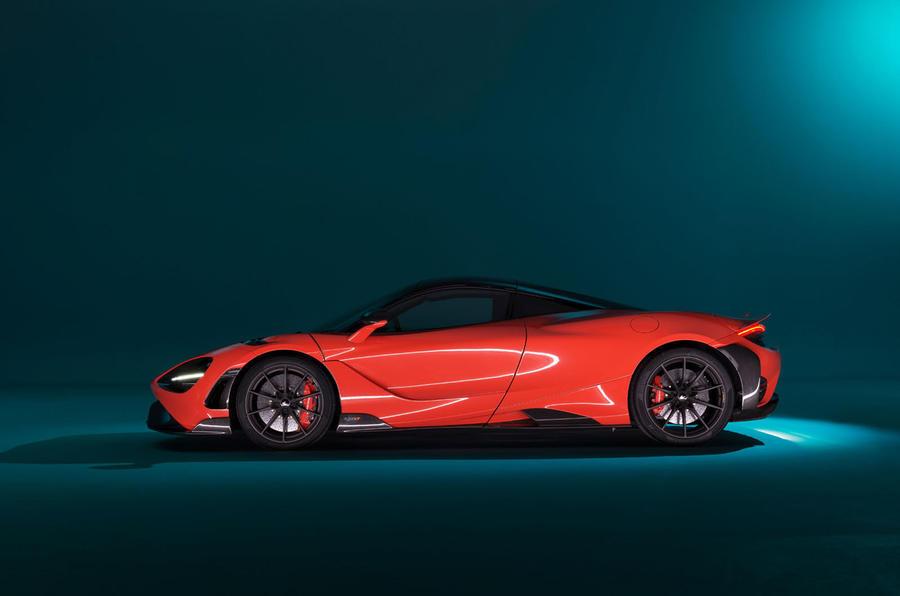 2020 McLaren 765LT - side
