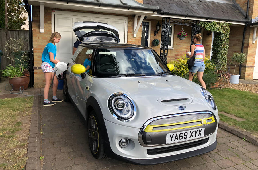 a month with a Mini Electric - home charging
