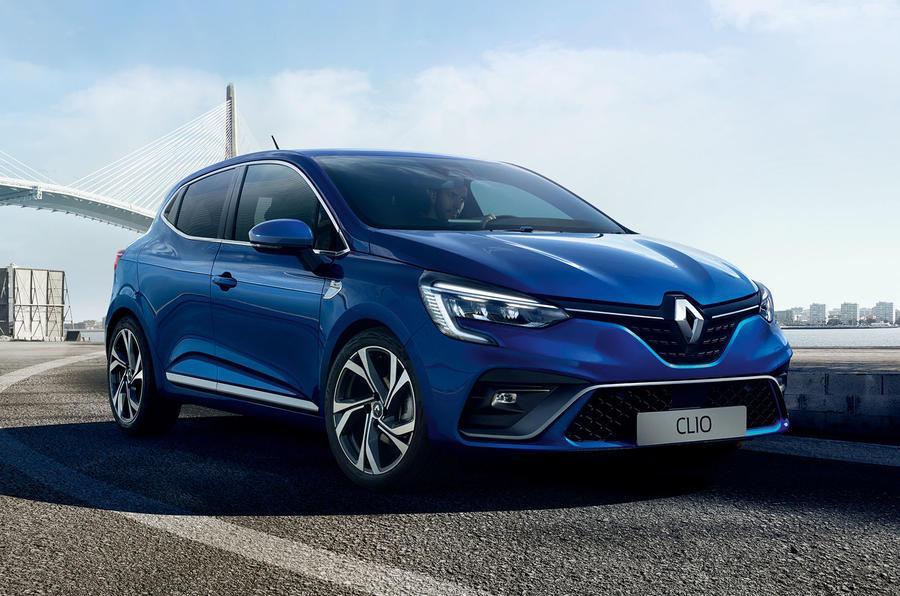 Renault Clio 2019 Autocar studio static - RS Line front