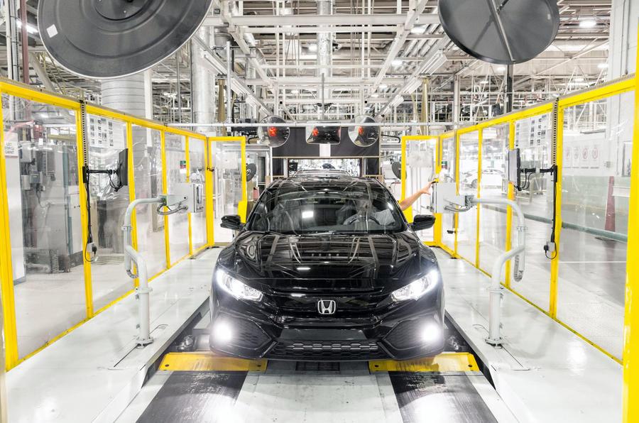 Honda UK plant