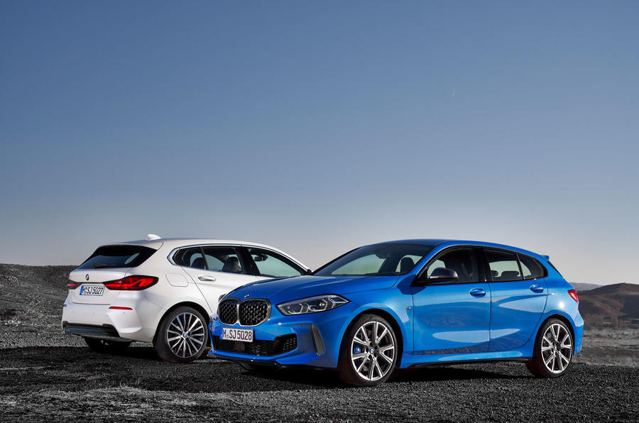 BMW 1 Series 2019 official reveal - base model and M static