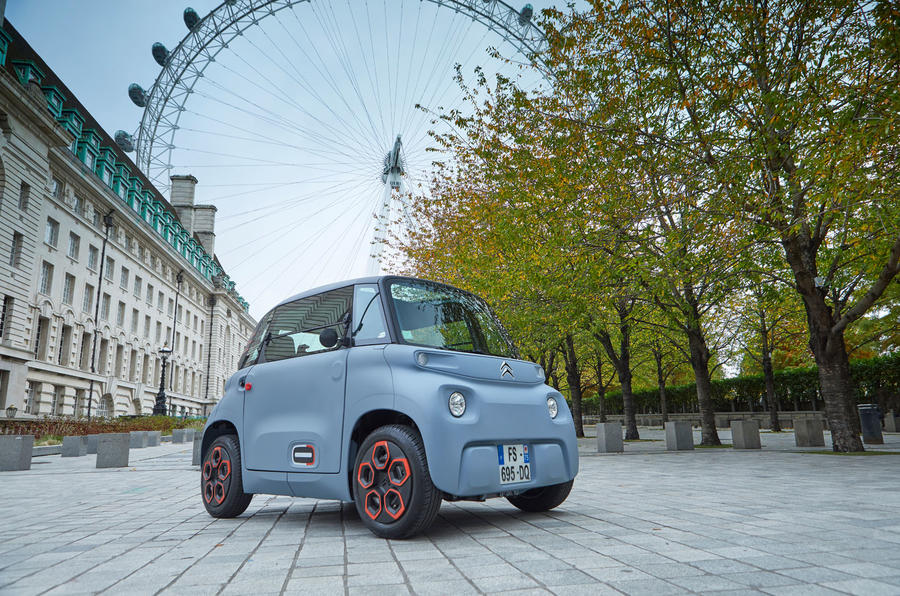 Citroen Ami (LHD) 2020 UK first drive review - static front