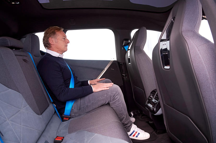 BMW iNext official images - Greg Kable rear seat