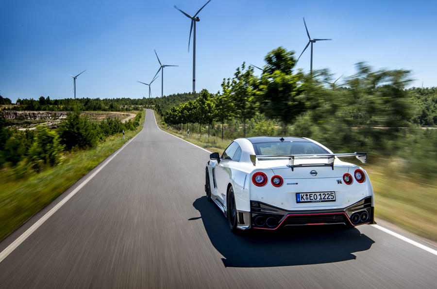 Nissan GT-R Nismo 2020 official reveal - road rear
