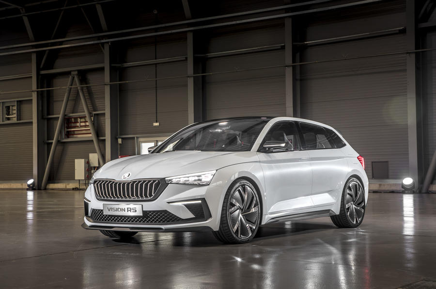 First Drive Skoda Vision Rs New Phev Powertrain Sampled