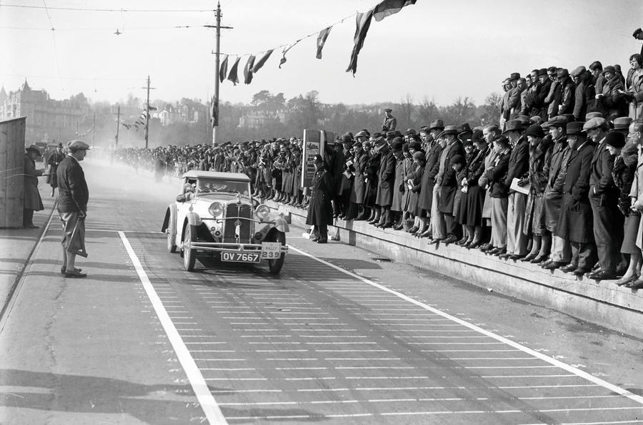 1932 RAC rally - credit: motorsport images