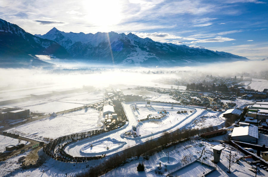 GP Ice Race Zell am See course