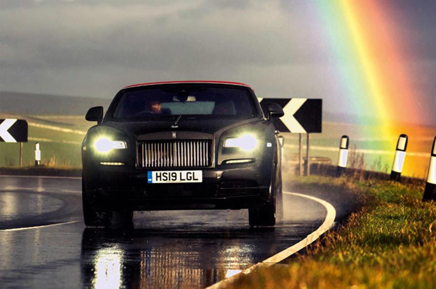 Rolls-Royce Dawn 2016 - rainbow