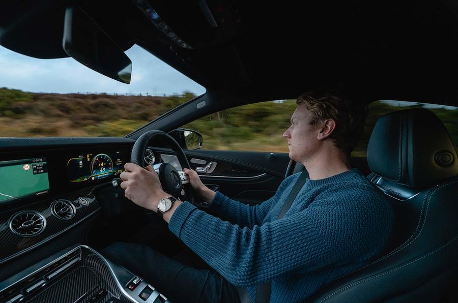Richard Lane Autocar Mercedes-AMG GT 63 S 4-door Coupé