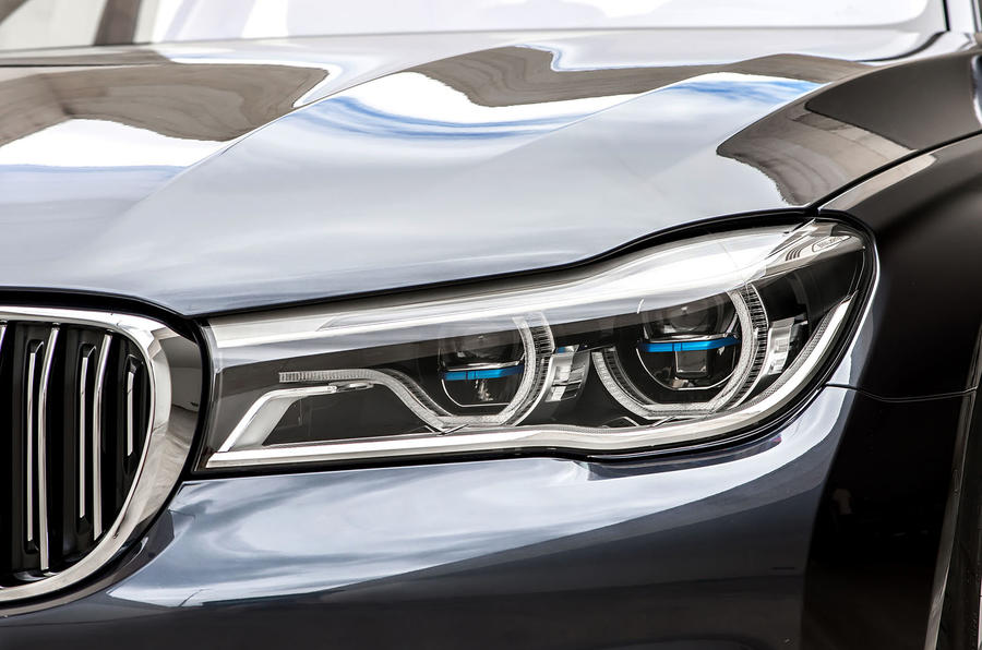BMW 7 Series LED headlights