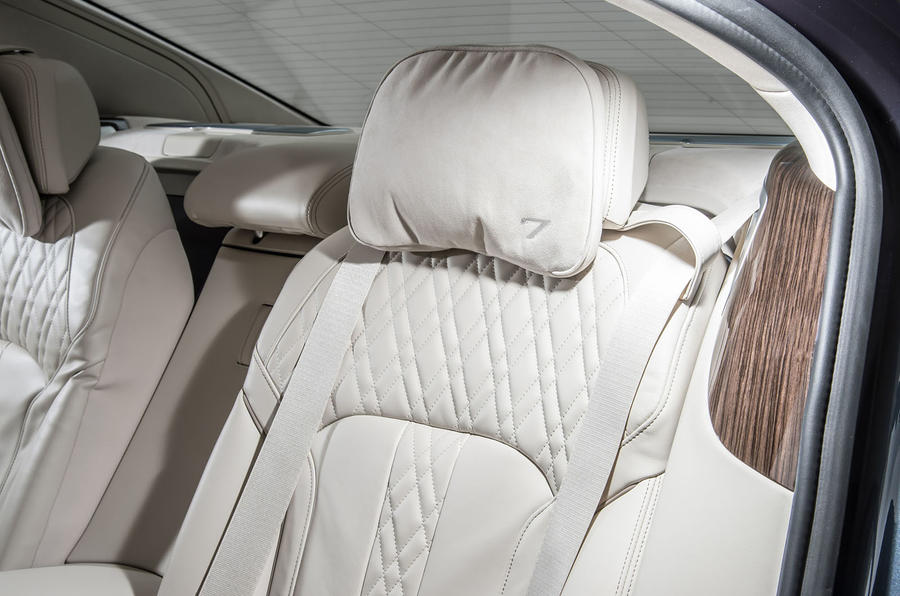BMW 730d passenger headrest
