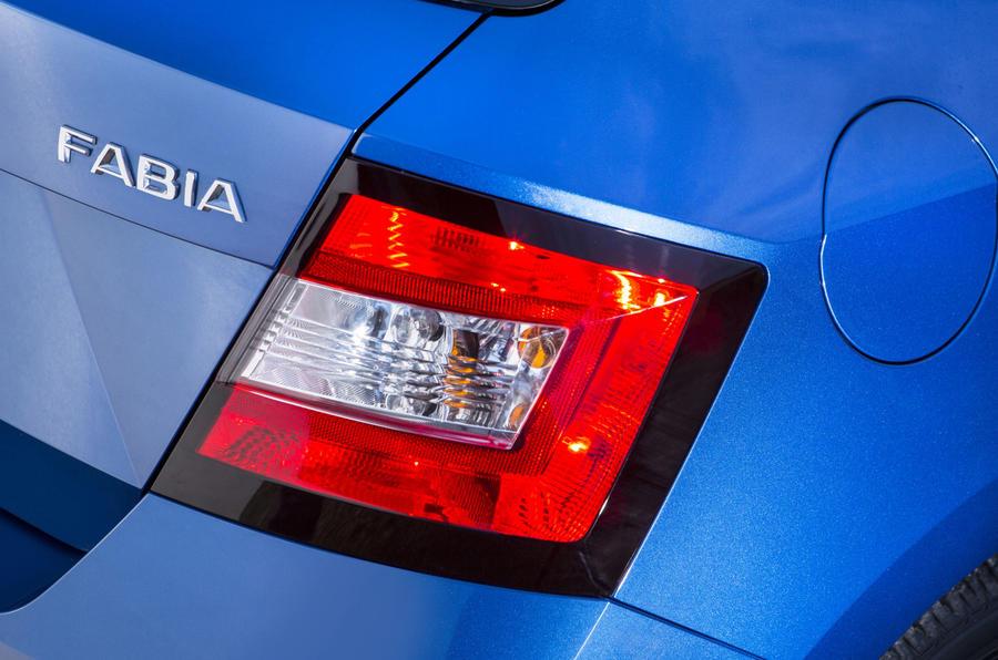 Skoda Fabia rear light