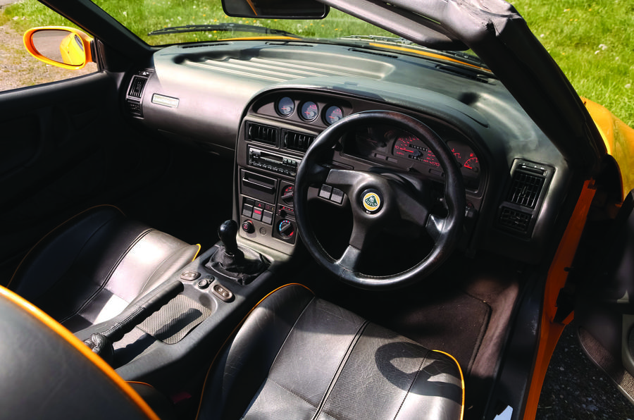 Lotus Elan S2 interior