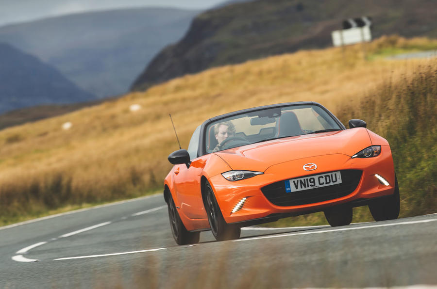 Mazda MX-5 - Best affordable driver's car winner - front