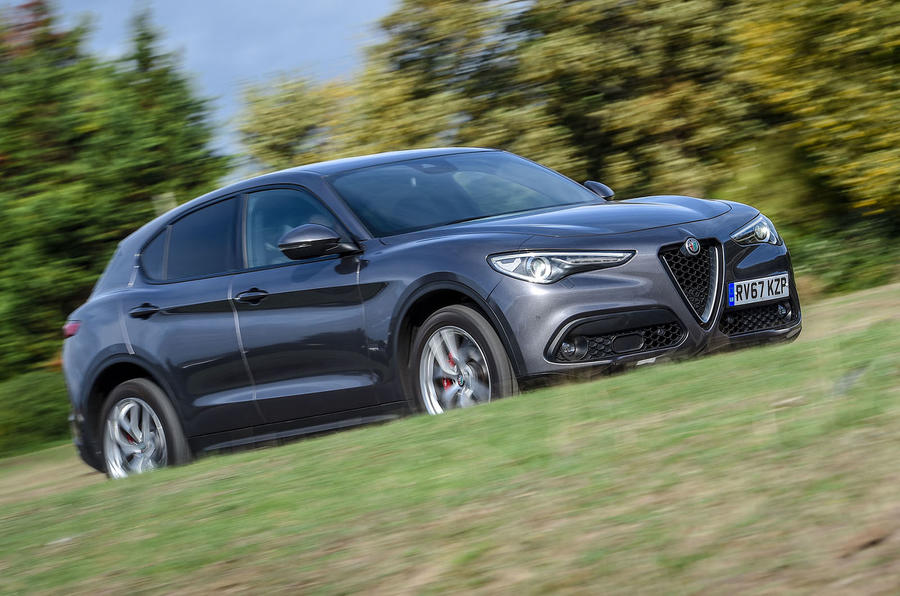 Alfa Romeo Stelvio Speciale first drive review - on the road front