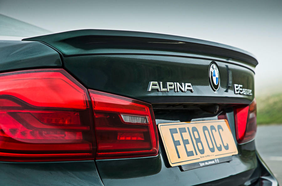 Alpina B5 BiTurbo saloon brake lights