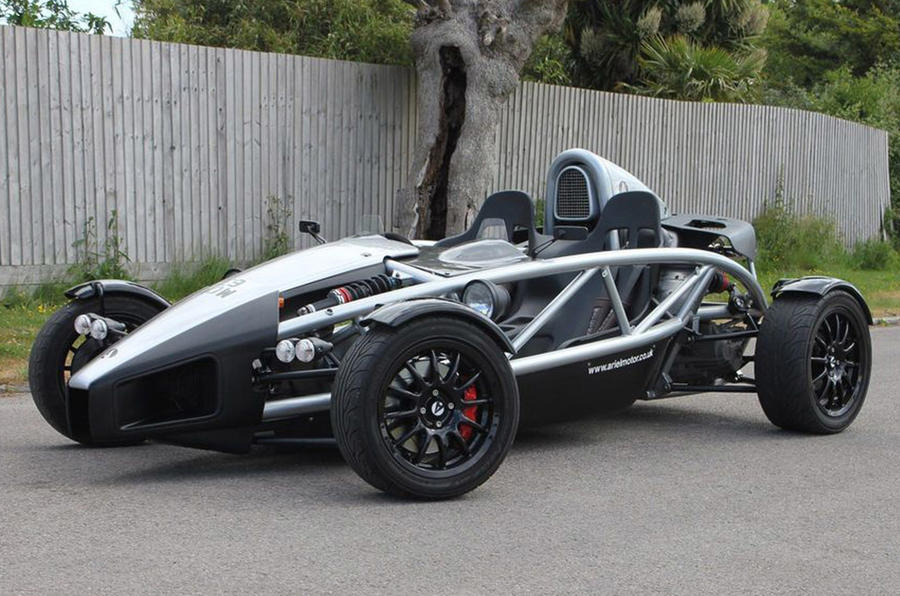 Ariel Atom - static front