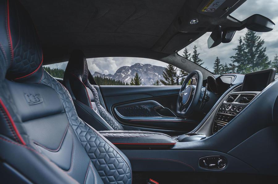 Aston Martin DBS Superleggera 2018 first drive review cabin