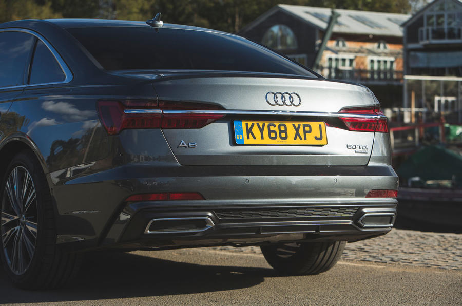 Audi A6 2018 long-term review - rear end