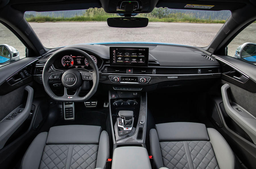 Audi S4 2019 first drive review - dashboard