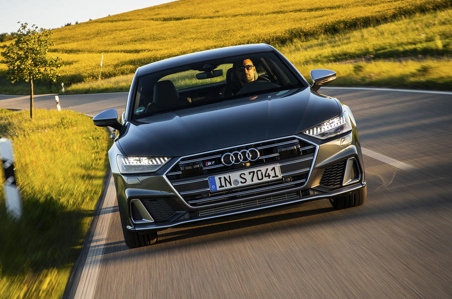 Audi S7 TDI 2019 first drive review - on the road nose