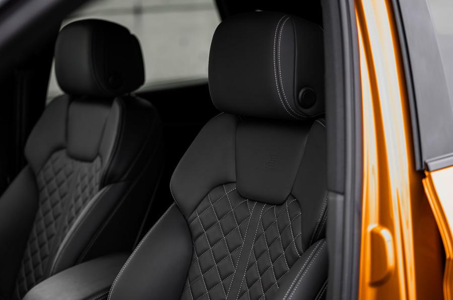 8 Audi SQ5 2021 : premier examen de conduite des sièges avant