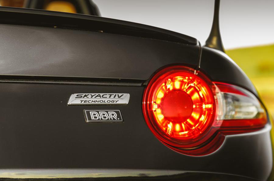 BBR GTI Mazda MX-5 Super 220 2020 UK first drive review - rear lights