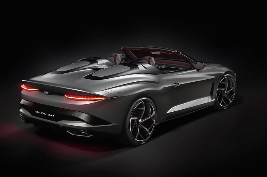 Bentley Bacalar Greenwich 2020 - static rear