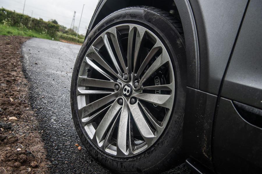 Bentley Bentayga Speed 2019 UK first drive review - alloy wheels