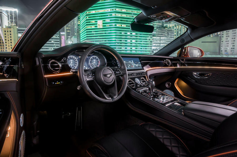 Bentley Continental GT V8 2019 first drive review - cabin