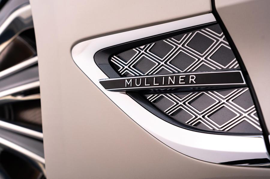 Bentley Mulliner GT - exterior detail