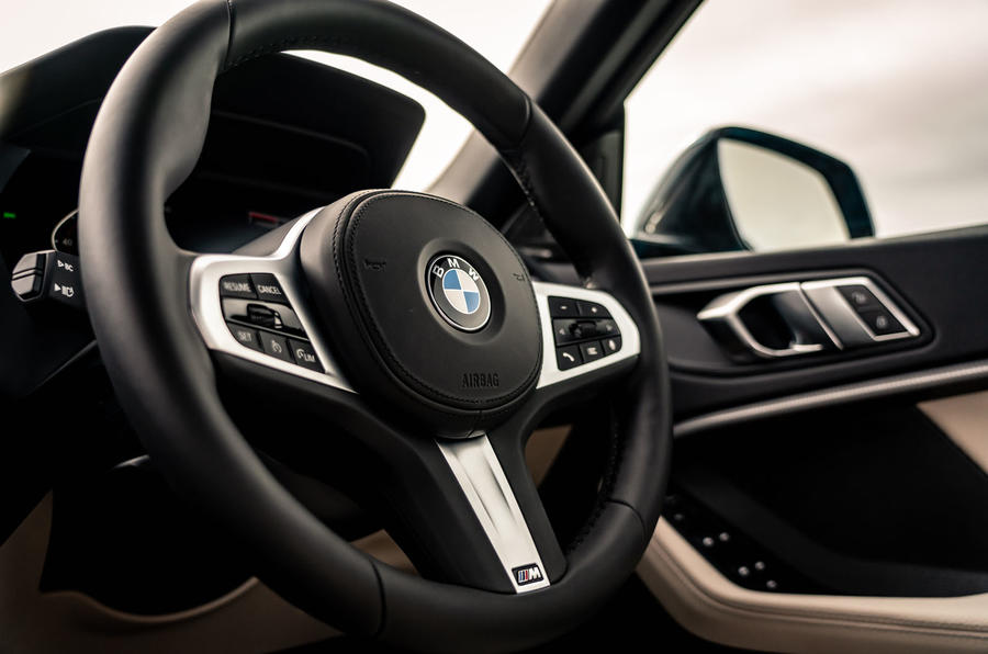 BMW 2 Series Gran Coupe 220d 2020 UK first drive review - steering wheel