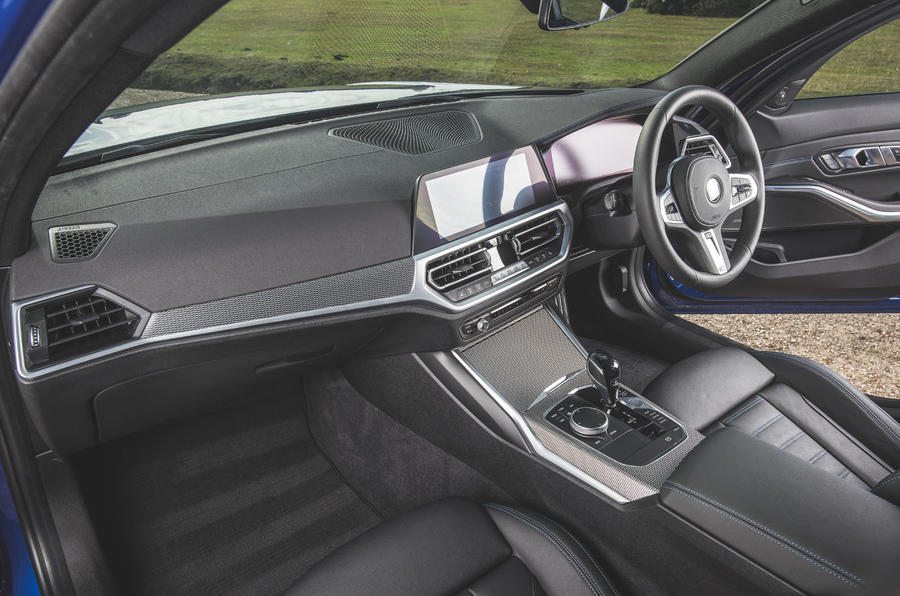 BMW 3 Series Touring 320d 2019 UK first drive review - cabin