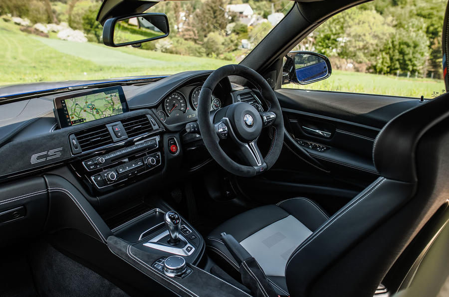 BMW M3 CS 2018 review interior