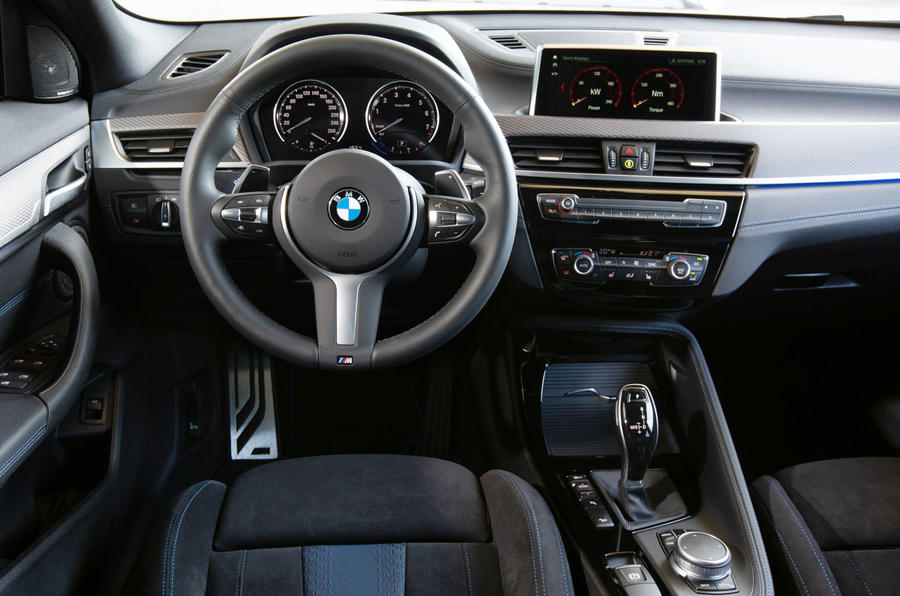 BMW X2 M35i 2019 first drive review - dashboard
